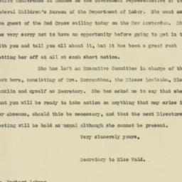 Letter : 1919 March 26