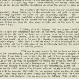 Letter : 1920 July 10