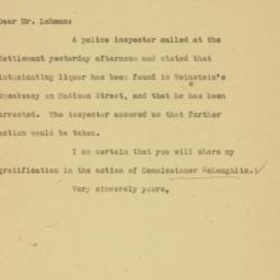 Letter : 1926 December 23