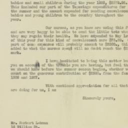 Letter : 1927 May 31