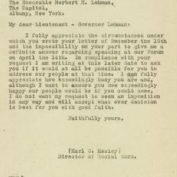 Letter : 1929 March 14