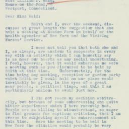 Letter : 1934 July 23