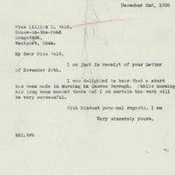 Letter : 1935 December 2