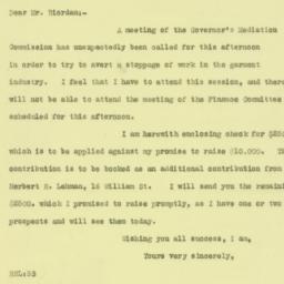 Letter : 1925 September 11