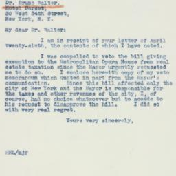 Letter : 1941 May 3