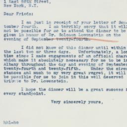 Letter : 1941 September 11