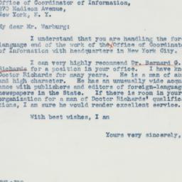 Letter : 1941 September 26