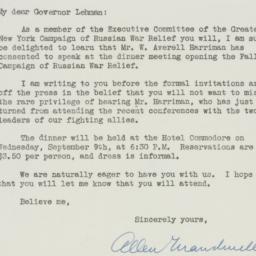 Letter : 1942 September 2