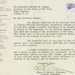Letter : 1936 October 21