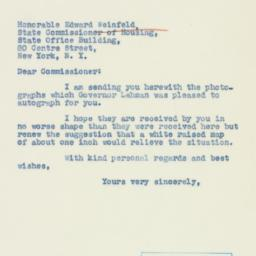 Letter : 1940 September 11