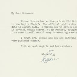 Letter : 1948 July 26