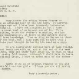 Letter : 1948 August 2
