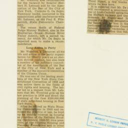 Clipping : 1950 May 25