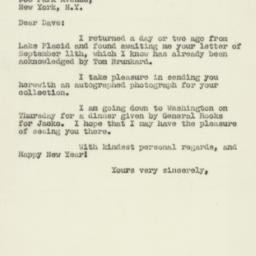 Letter : 1947 September 23