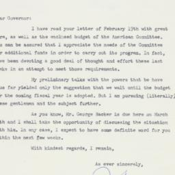 Letter : 1958 March 10