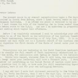 Letter : 1958 October 26