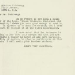 Letter : 1947 August 4