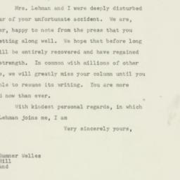 Letter : 1948 December 31