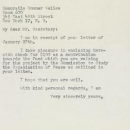 Letter : 1954 February 3