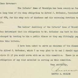 Letter: 1935 September 19