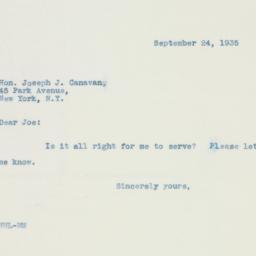 Letter : 1935 September 24