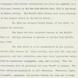 Letter : 1938 December 7