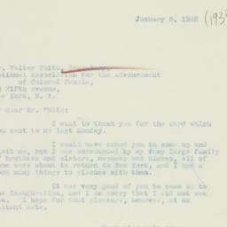 Letter : 1932 January 5