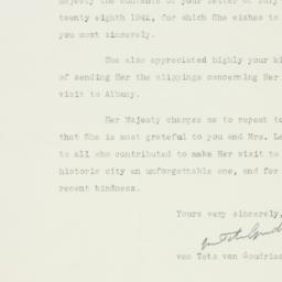 Letter : 1942 August 3