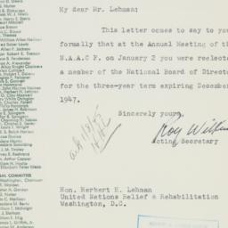 Letter : 1945 January 3
