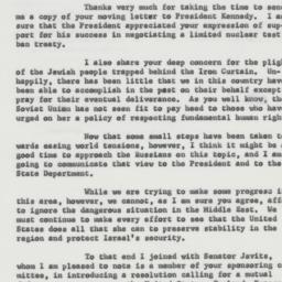 Letter : 1963 August 26