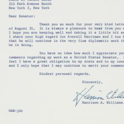 Letter : 1963 September 9