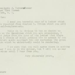 Letter : 1947 January 6