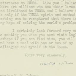 Letter : 1952 July 21