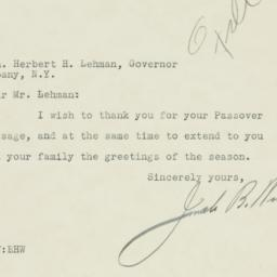 Letter : 1934 March 22
