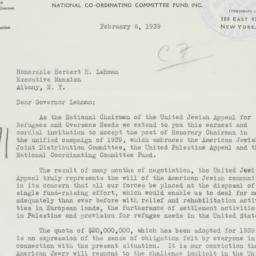 Letter : 1939 February 6