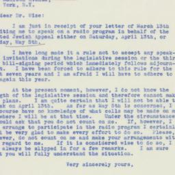Letter : 1940 March 15