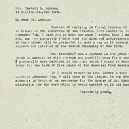 Letter : 1924 November 12