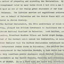 Speech: 1947 November 3