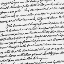 Document, 1775 July 22