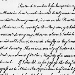 Document, 1787 March 29