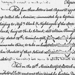 Document, 1788 March 25