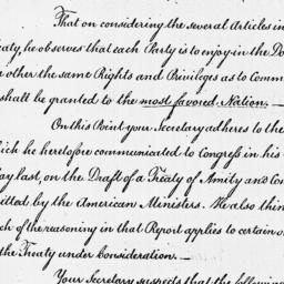 Document, 1786 March 09