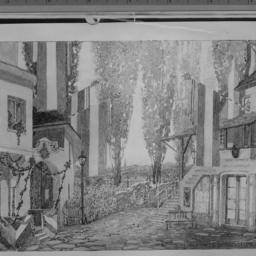 1 photo of set drawing