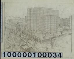 Columbia University, proposed East Campus building.