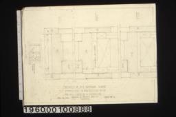 Details of S.E. bathroom windows :Sheet no. 12.