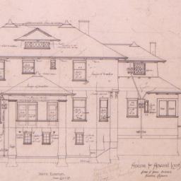 House for Howard Longley, [...