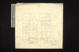 Second floor plan : Sheet no. 1.
