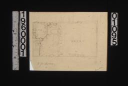 Sketch of garage plan