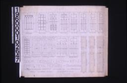 Door details -- elevations and full size sections :Sheet number seven\,