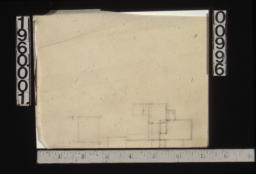 Rough sketch of partial floor plan